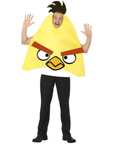 Fato de Angry Birds amarelo para adulto