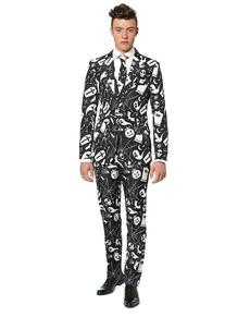 Fato Halloween Black Icons Suitmeister
