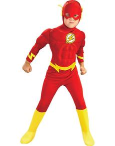 Fato de Flash musculoso para menino