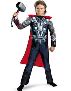 Fato de Thor Classic musculoso para menino
